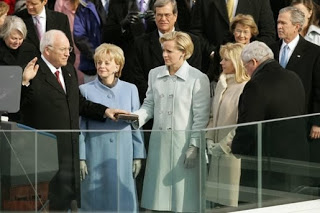http://commons.wikimedia.org/wiki/File:Cheney_inauguration.jpg